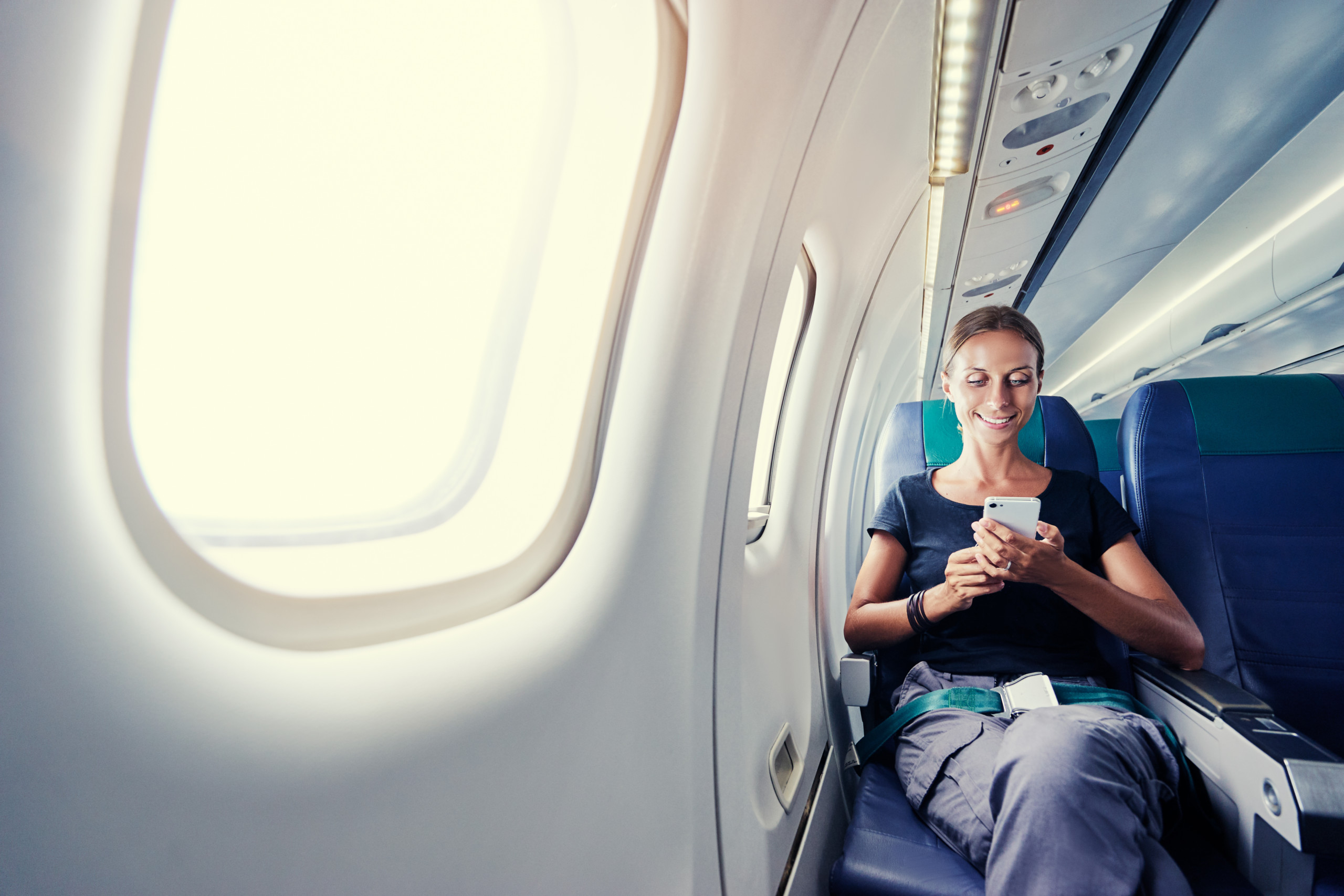 Why Do Commercial Airlines Ask for Phones to be Turned Off, but Other Electronics Are Available for Use?